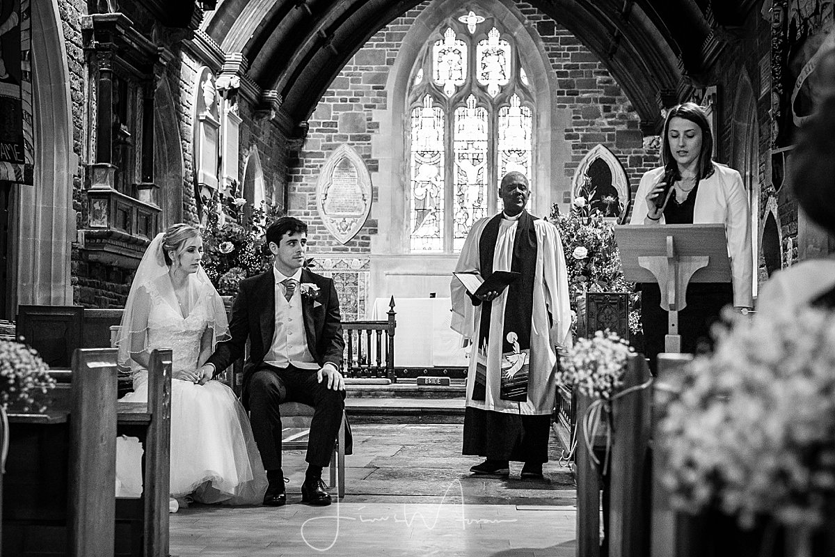All Saints Church Hampreston Wedding
