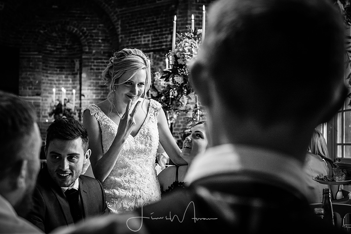 Highcliffe Castle Wedding reception