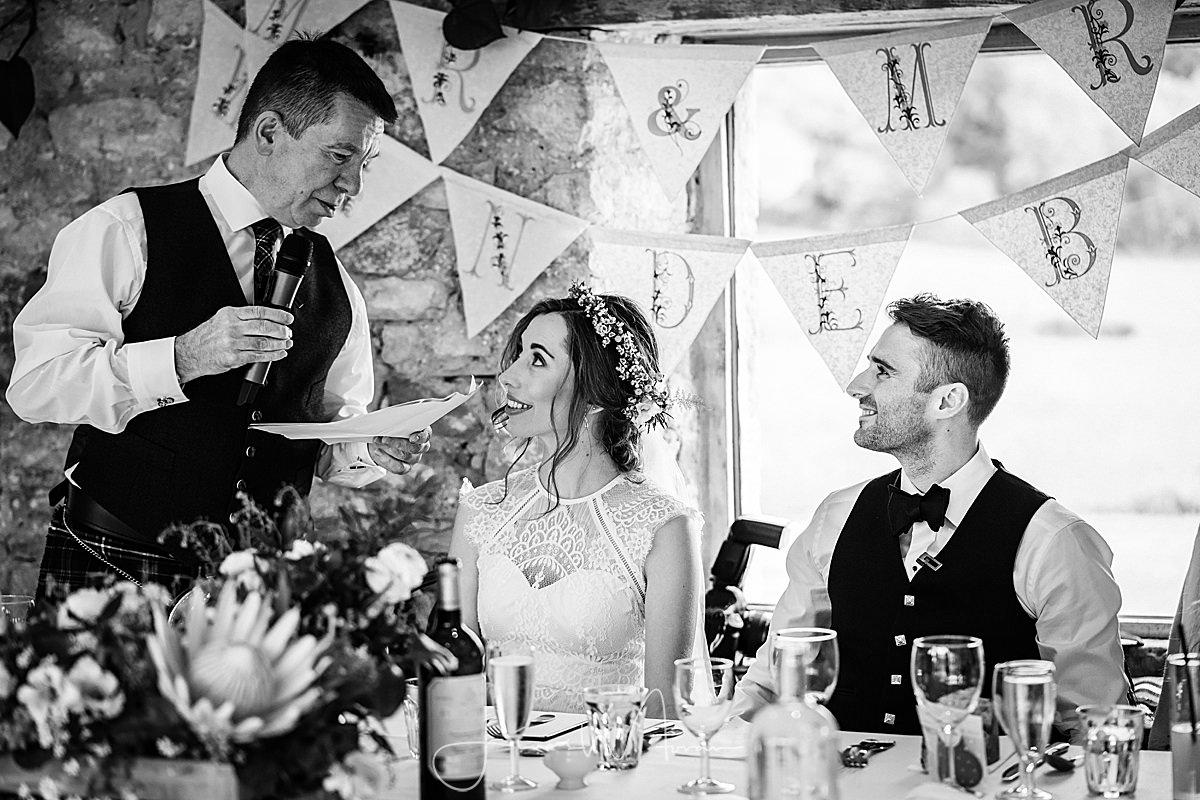 Wedding Breakfast speeches
