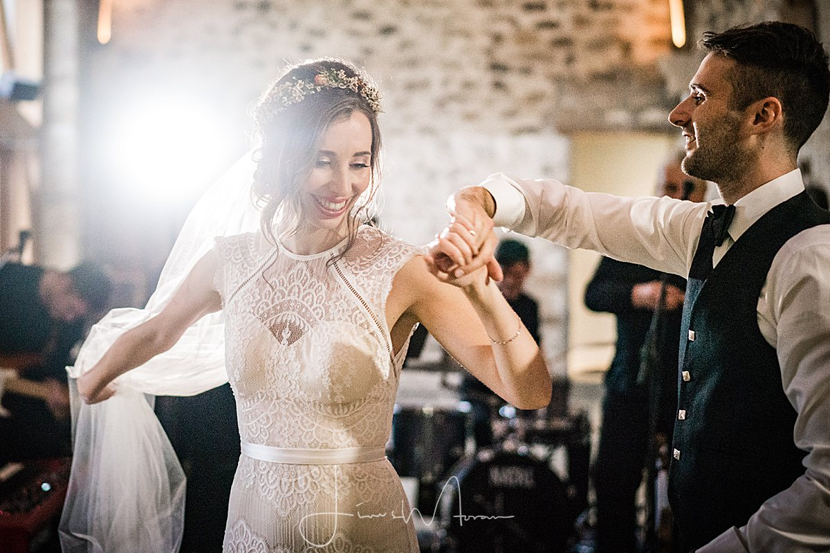 Healey Barn Wedding First Dance