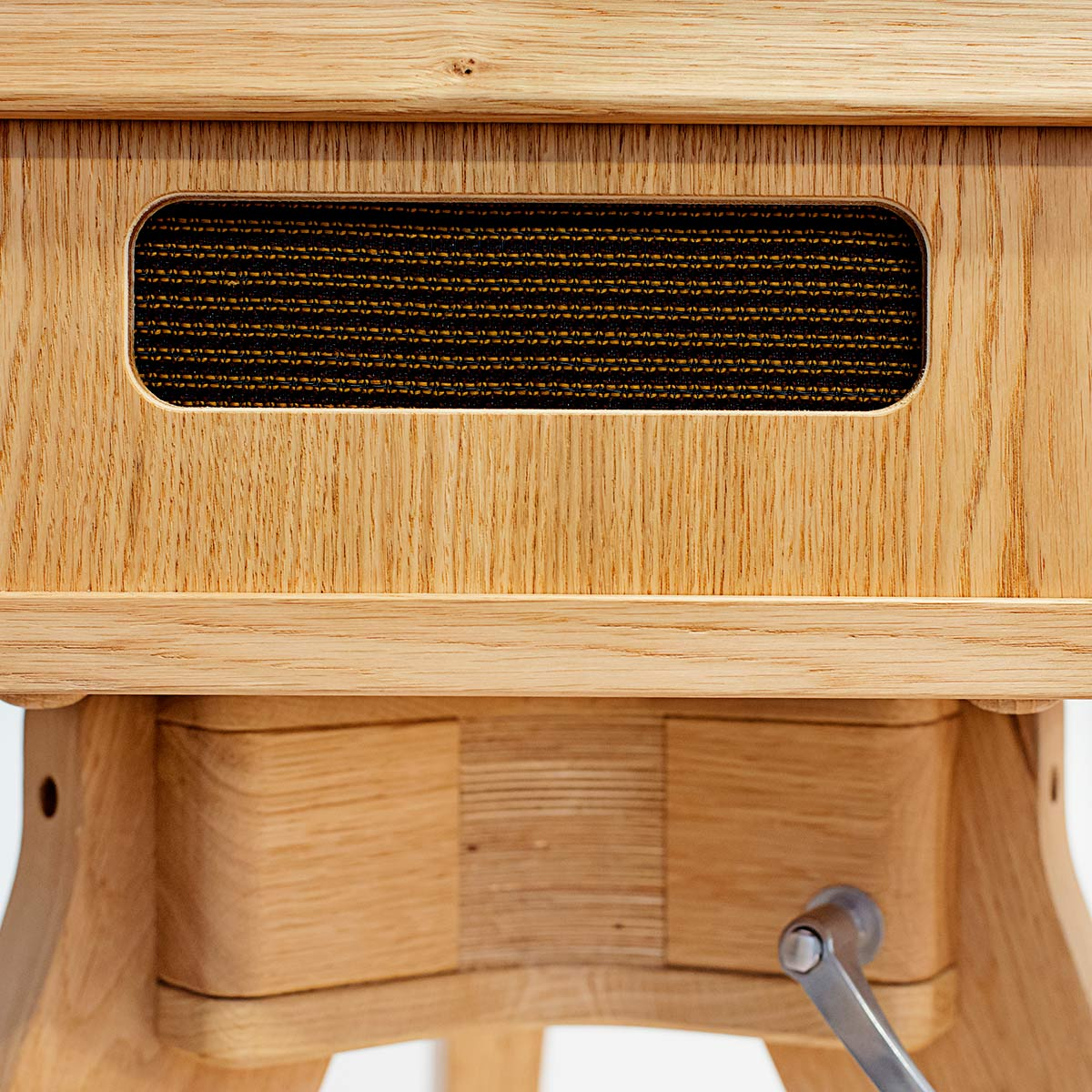 Detail shot close ups of the Oak Photo Booth